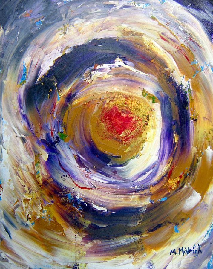 Abstract Painting - Eye Of The Storm by Marita McVeigh