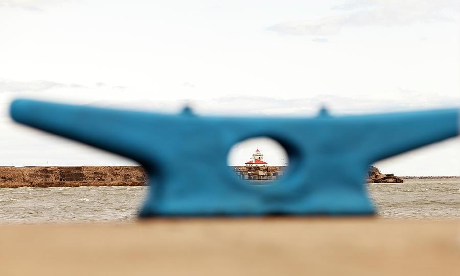 Eye on Oswego Lighthouse by Chris Babcock