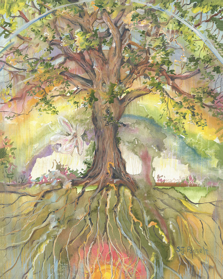 Eye See My Healing Tree by Sheri Jo Posselt