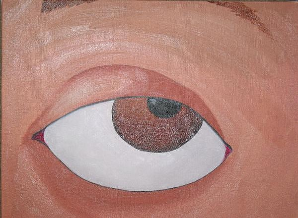 Eye Painting - Eye See You by Heather Kent