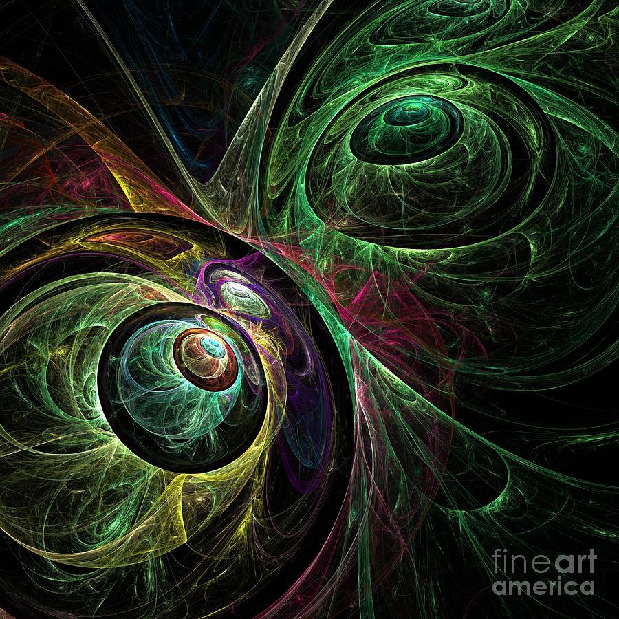 Eye Painting - Eye To Eye by Oni H
