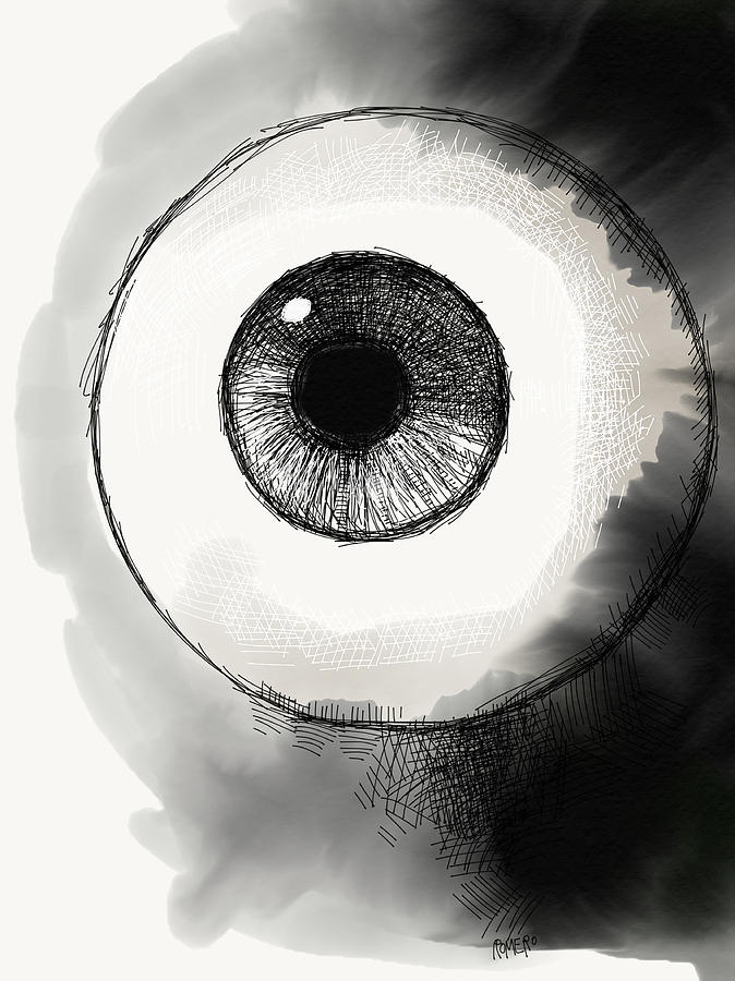 Eyeball Digital Art - Eyeball by Antonio Romero