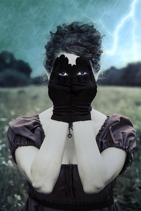 Female Photograph - Eyes by Joana Kruse