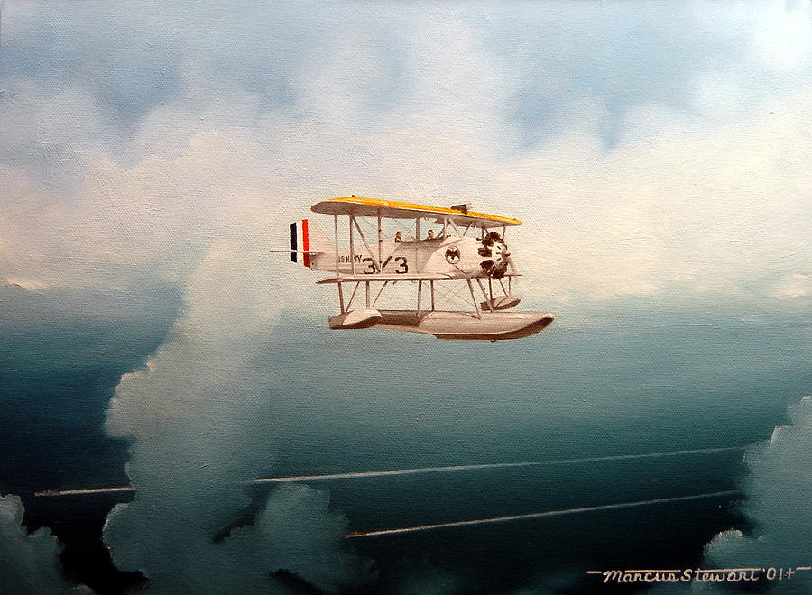 Military Painting - Eyes Of The Fleet by Marc Stewart