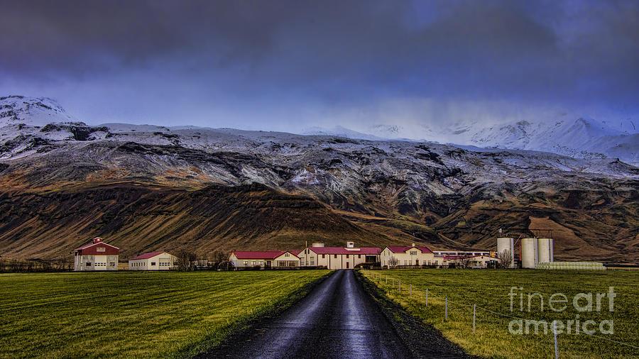 Eyjafjallajkull Volcano  Iceland Photograph