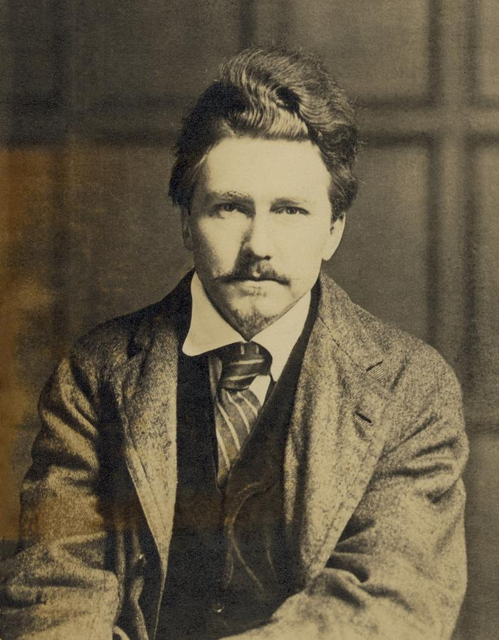 History Photograph - Ezra Pound 1885-1972, In The 1920s by Everett