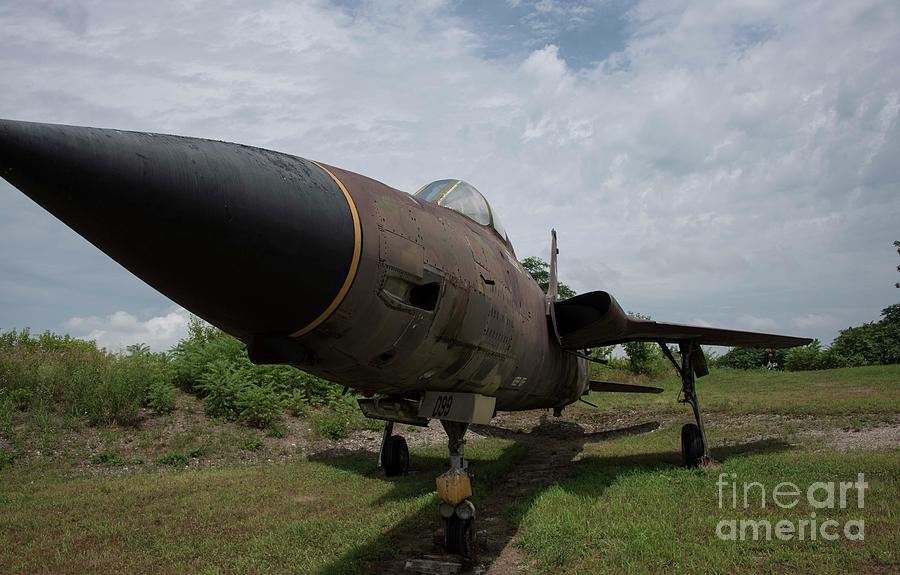 Thunderchief Photograph - F - 105 Thunderchief by David Bearden