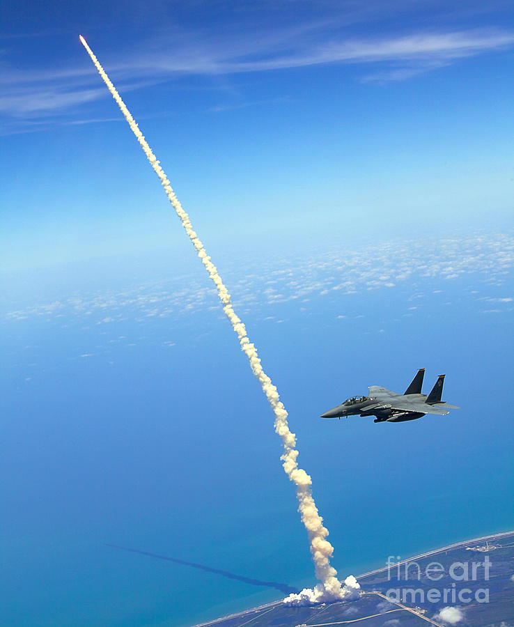 F-15e Strike Eagle Painting by Celestial Images