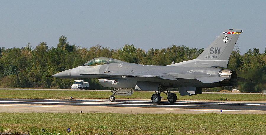 F-16 Photograph - F-16 Falcon by Donald Tusa