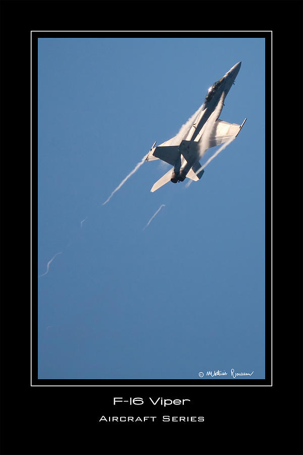F-16 Viper Photograph - F-16 Viper by Mathias Rousseau