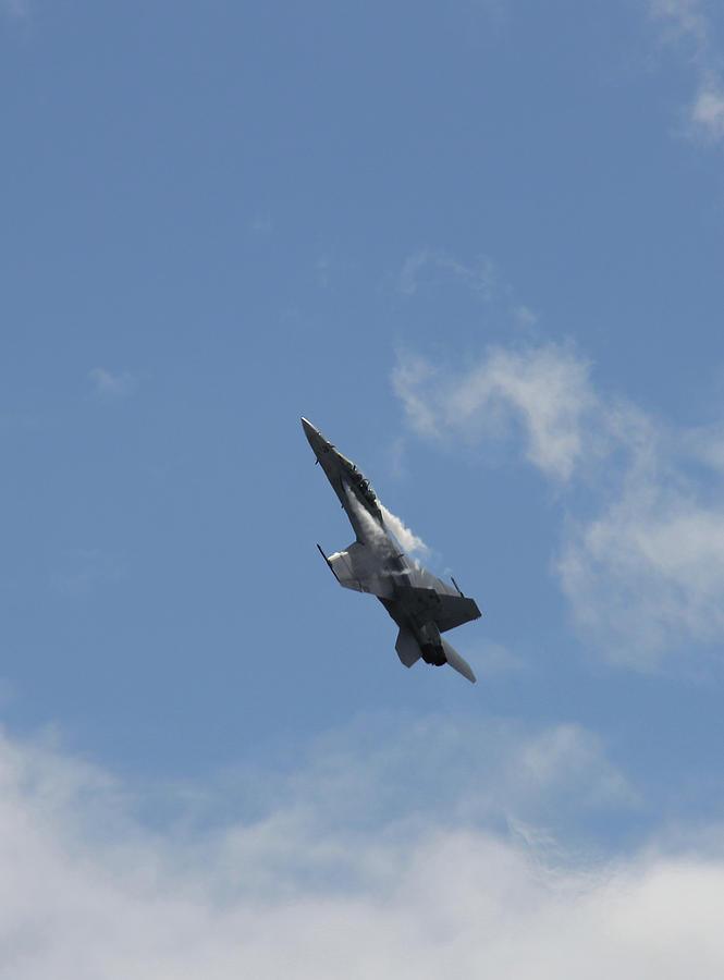 F/a-18 Fighter Fast Climb Photograph