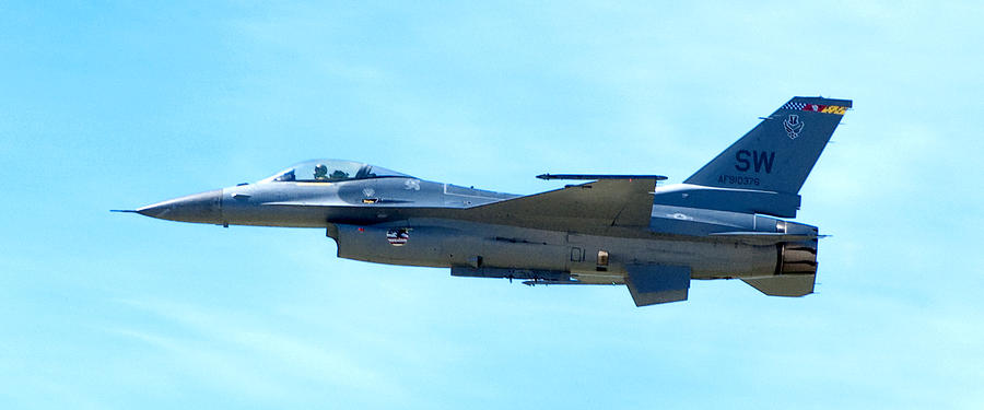 F16 Photograph - F16 by Greg Fortier