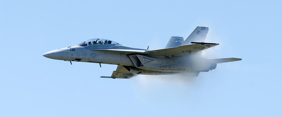 F18 Photograph - F18 - Barrier by Greg Fortier