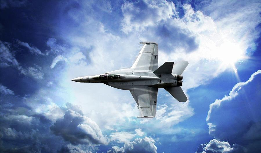 F18 Fighter Jet Photograph