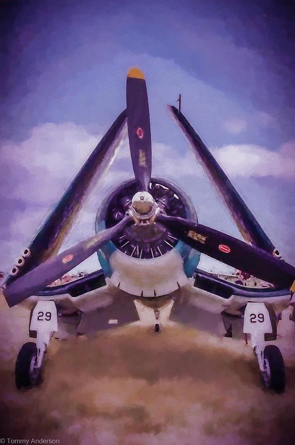 F4u Corsair Photograph