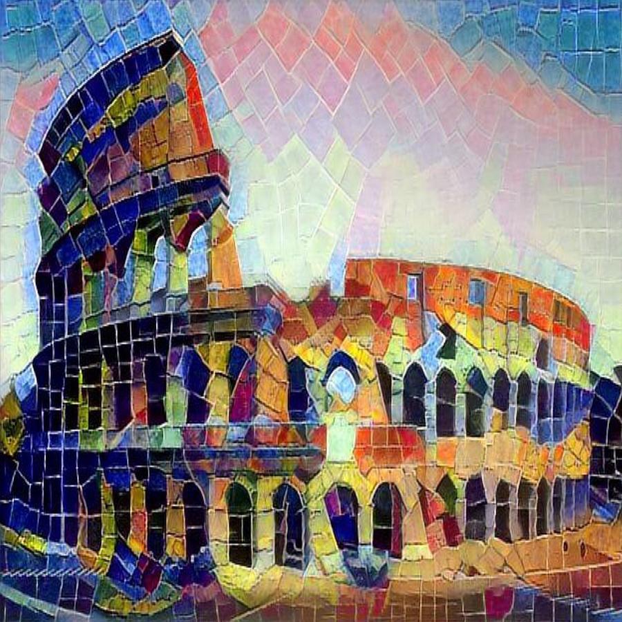 Fabio's Coliseum by Gerry Morgan