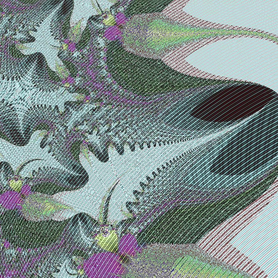 Digital Digital Art - Fabric Sample by Thomas Smith