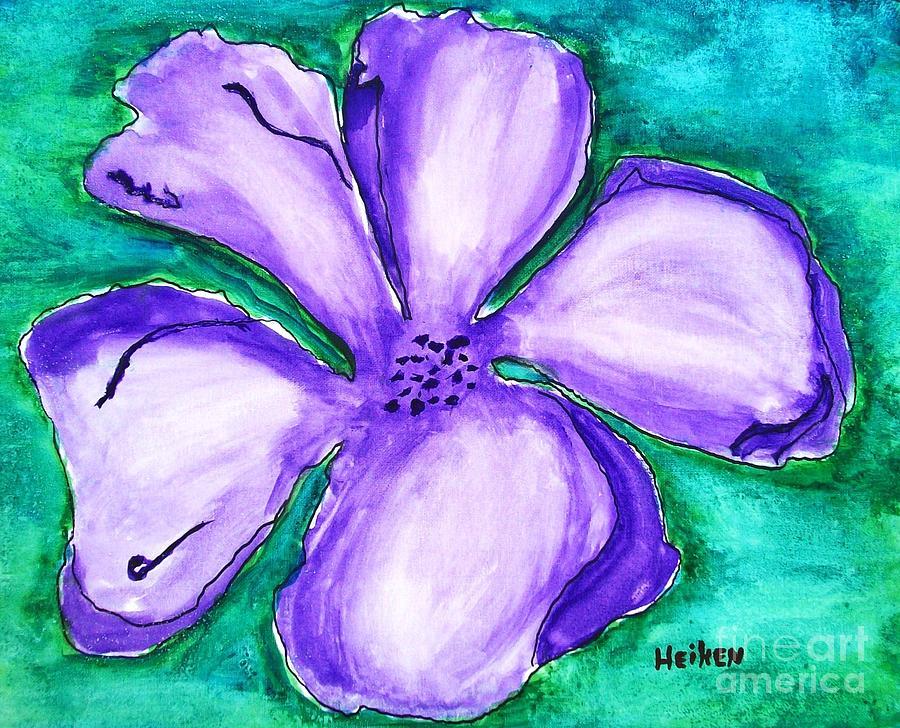 Painting Painting - Fabulous Flower by Marsha Heiken