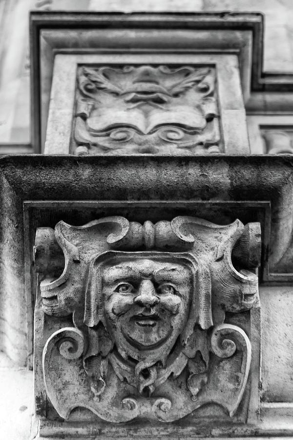 Face of London by Lora Lee Chapman