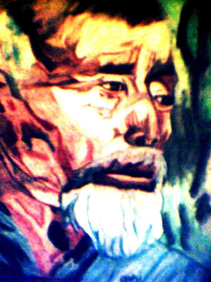 Oriental Pastel - Face Of Strength  by Jo-Ann Hayden