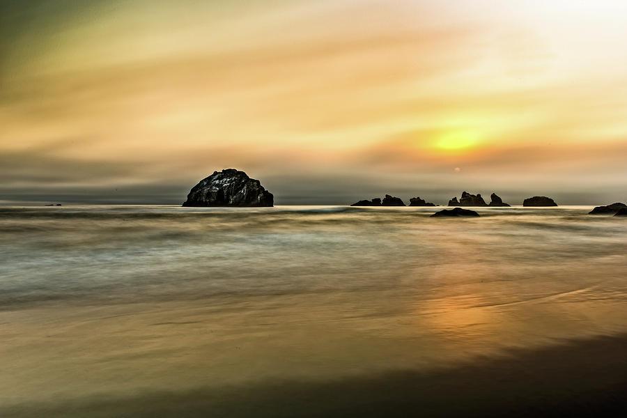 Face Rock Beach by George Buxbaum