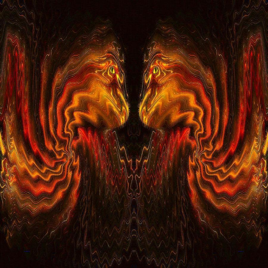 Face To Face Digital Art