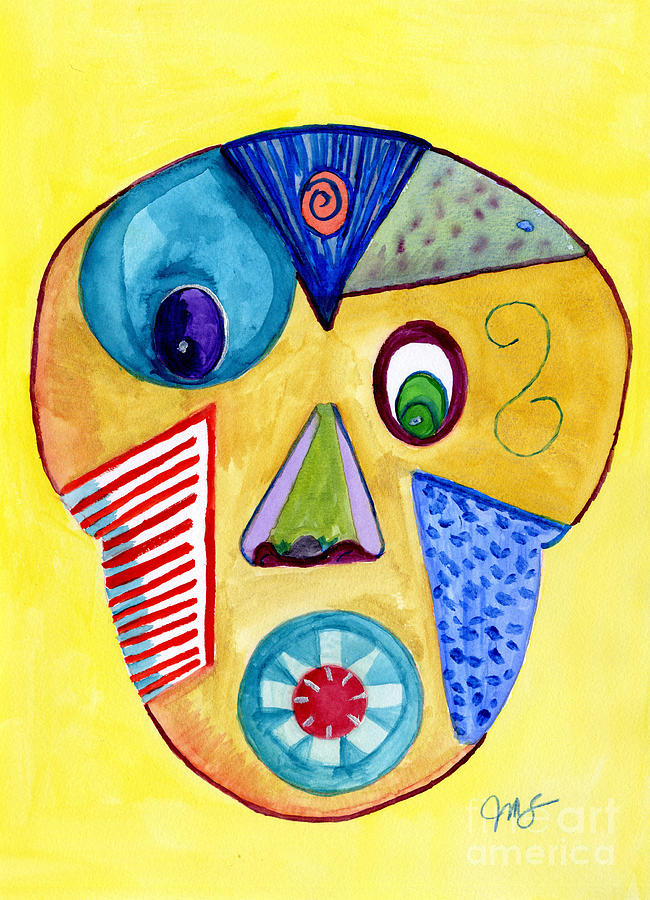 Facial Abstract by Julia Stubbe