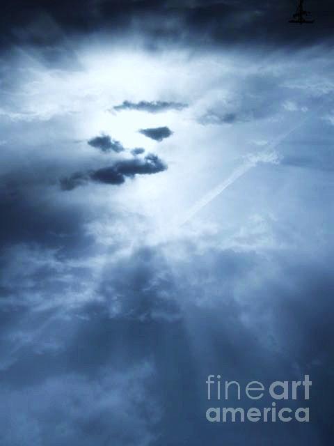 Sky Photograph - Facing It by Nancy Ippolito