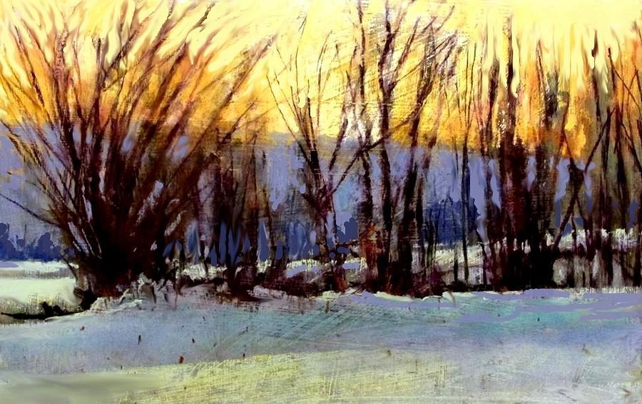 Facing Westward Painting by Joseph Barani