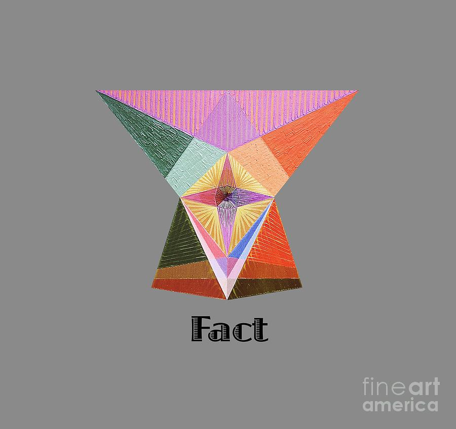 Perspectivism Painting - Fact text by Michael Bellon