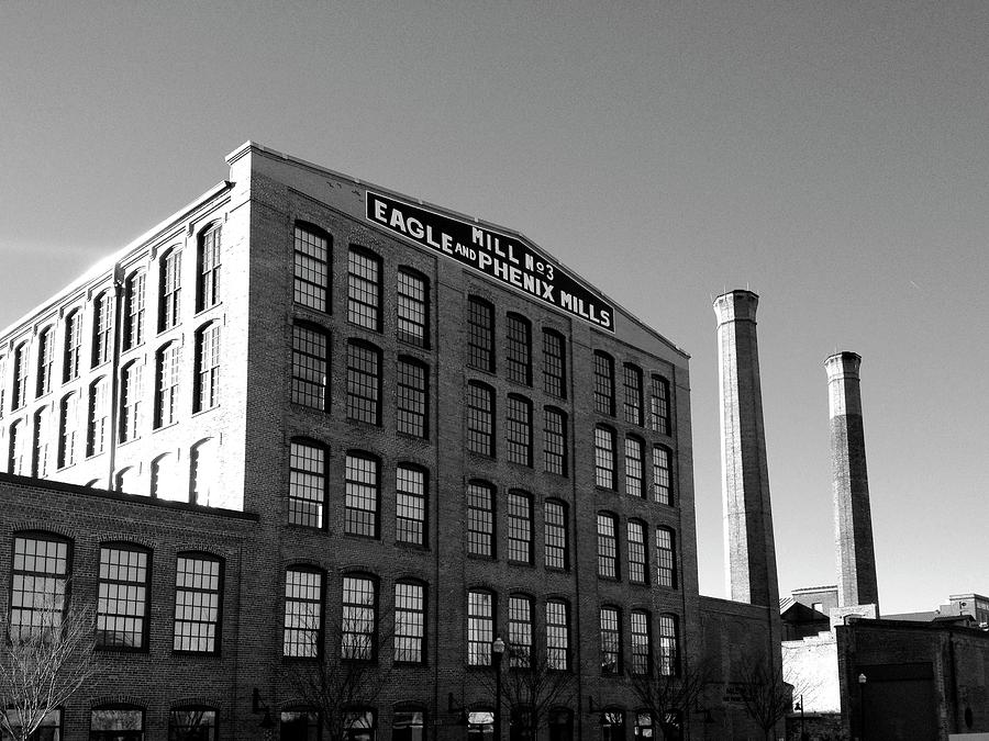 Architecture Photograph - Factory by Dick Goodman