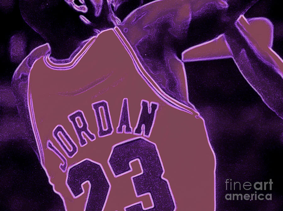 Jordan Digital Art - Fade Away by Brandon Ramquist