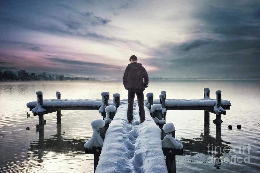 Fade Into Winter Photograph