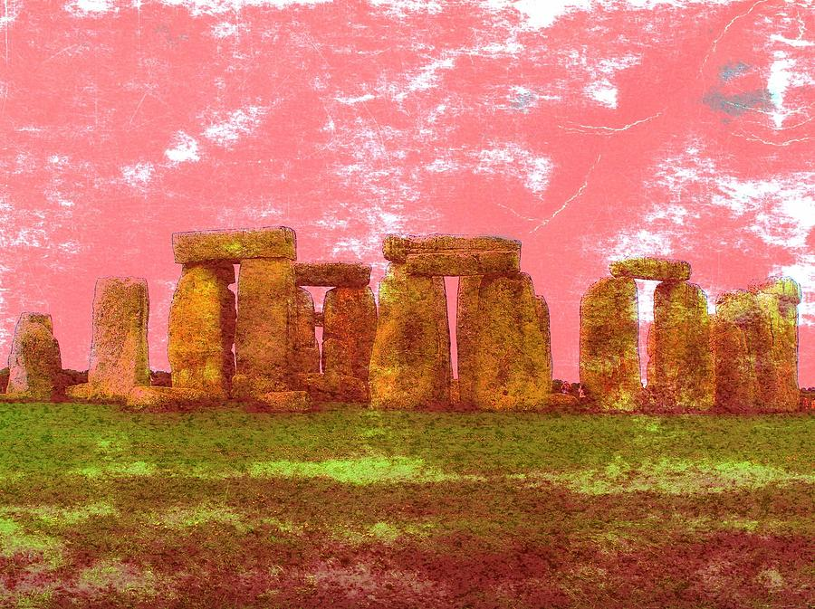 Stonehenge Photograph - Faded Grandeur by Jen White