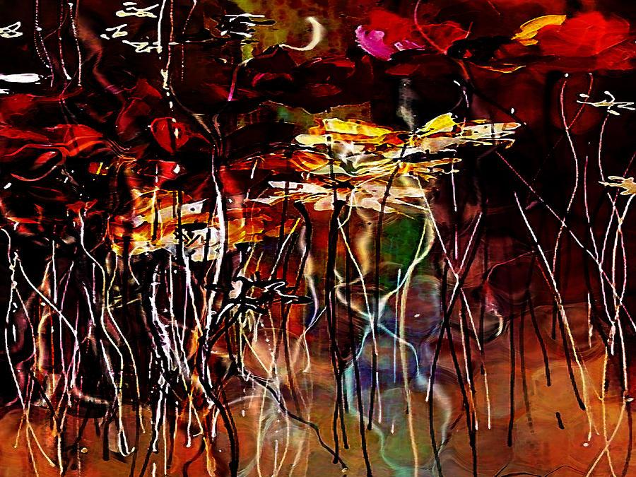 Love Painting - Faded Love by Amanda Schambon