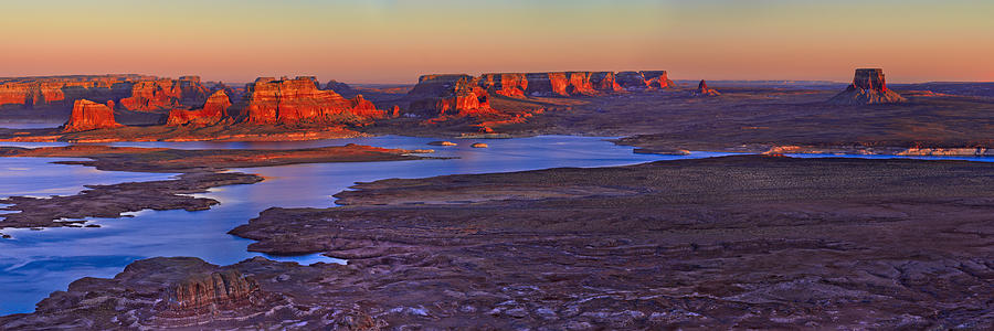 Utah Photograph - Fading Light by Chad Dutson