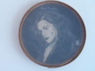 Fado Painting - Fado   Amalia by Francisco Urbano