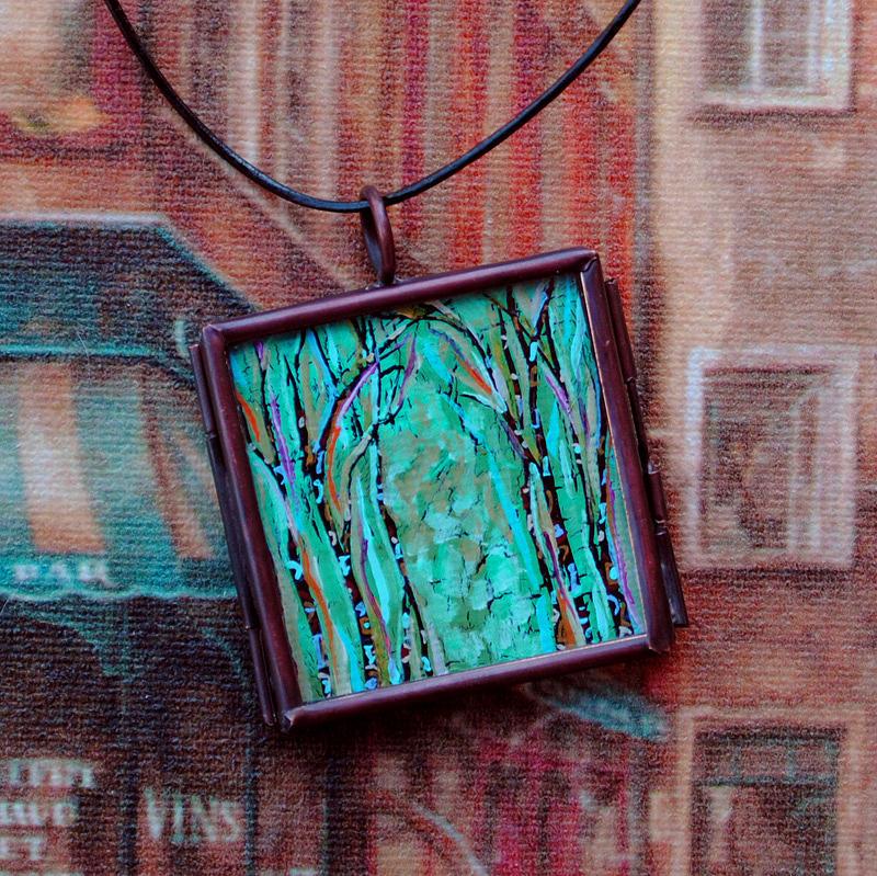 Original Painting - Fae Grove by Dana Marie