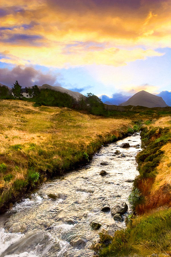 Scottish Photograph - Faerie Lands - Beautiful Morning On The Isle Of Skye by Mark E Tisdale