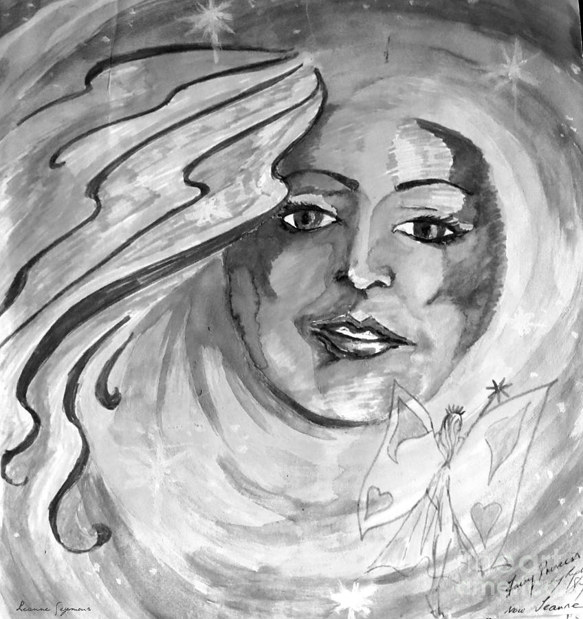 Faerie Drawing - Faerie by Leanne Seymour