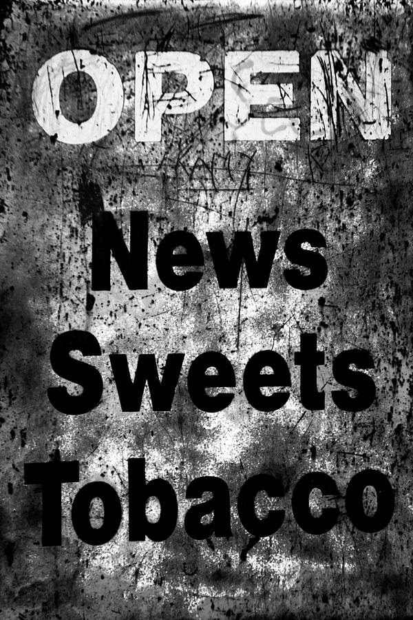 Bradford Photograph - Fags And Sherbet For Me by Jez C Self