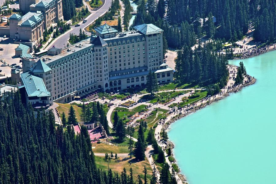 Fairmont Chateau Lake Louise Photograph By Frozen In Time Fine Art Photography