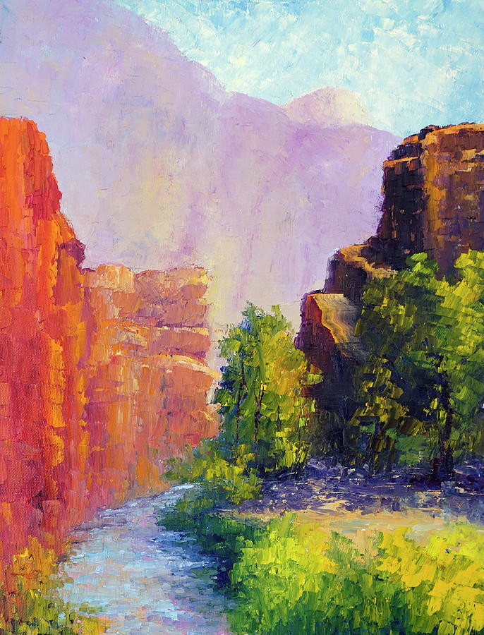 Fairmont River Capitol Reef National Park by Terry Chacon