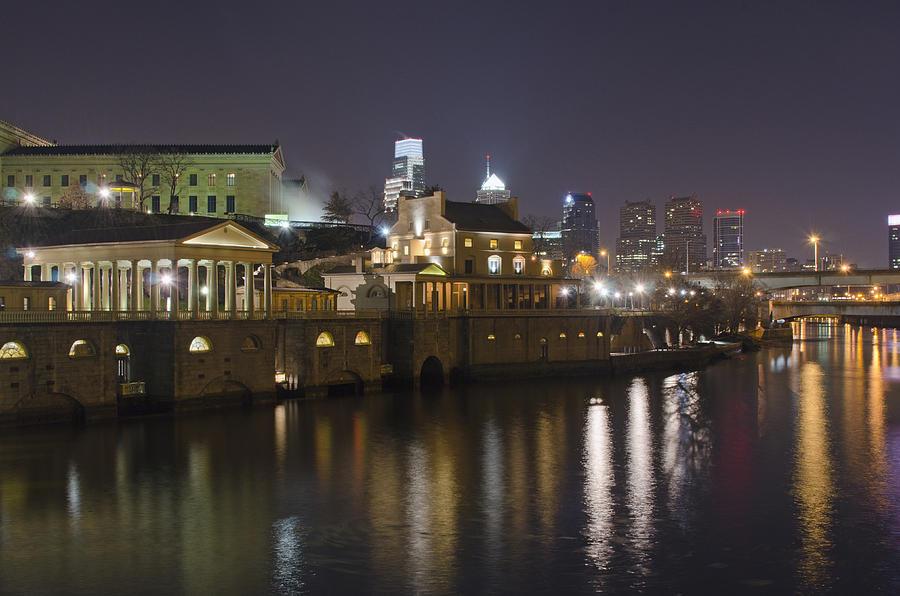 Philadelphia Photograph - Fairmount Water Works - Philadelphia  by Brendan Reals