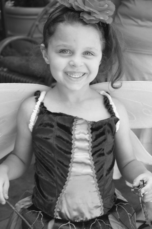 Kids Photograph - Fairy by Dana Flaherty