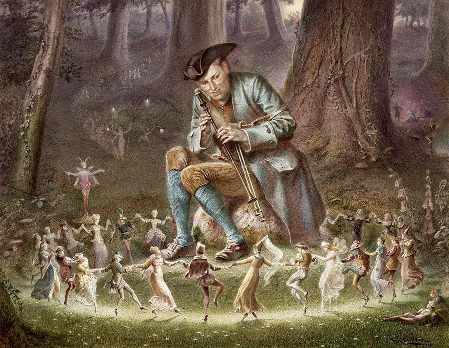 Fairy Photograph - Fairy Dance by William Holmes Sullivan