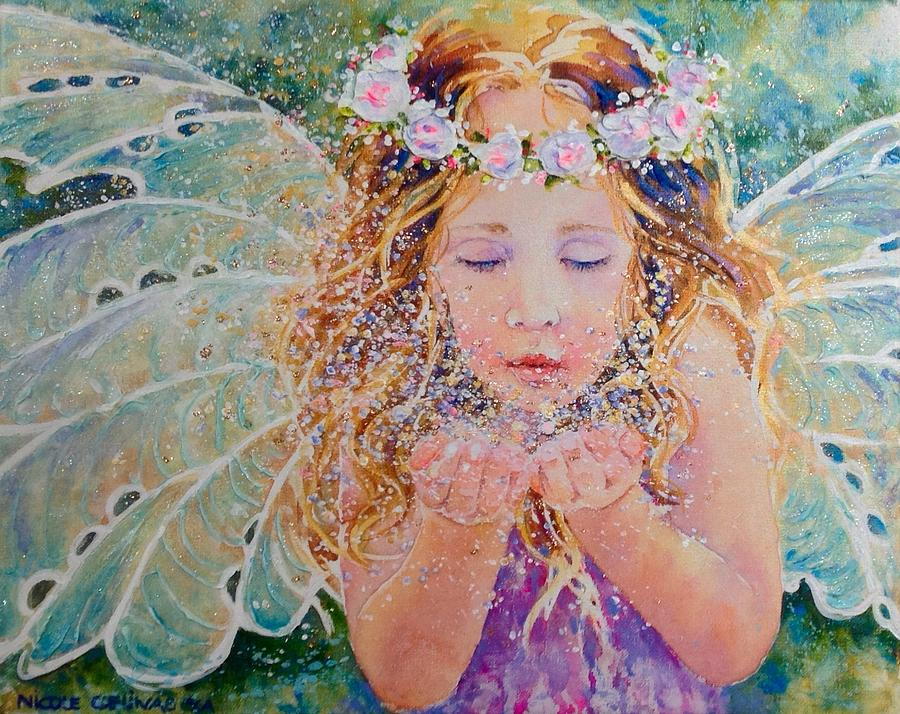 Fairy Dust Painting by Nicole Gelinas