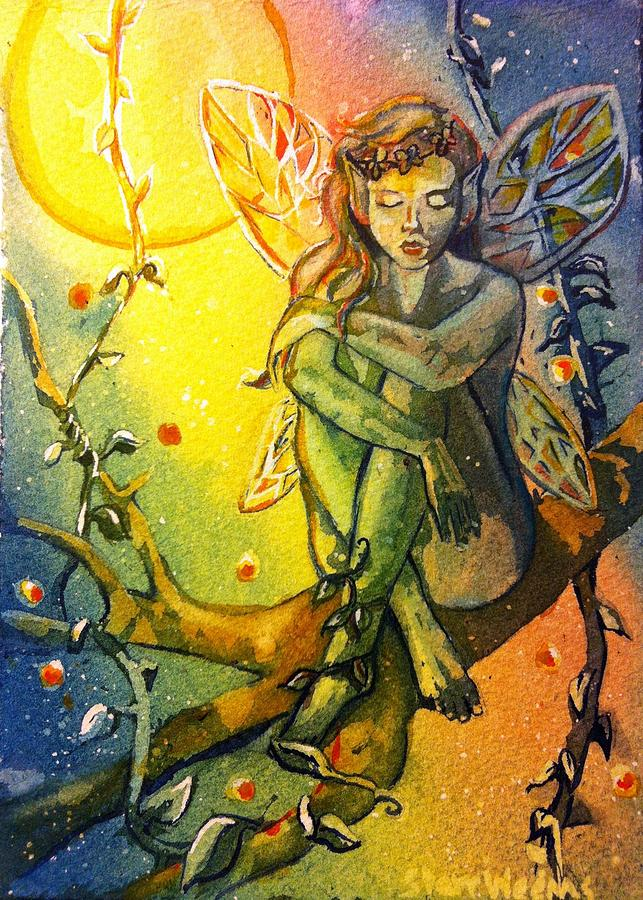 Dream Painting - Fairy Elves by Starr Weems