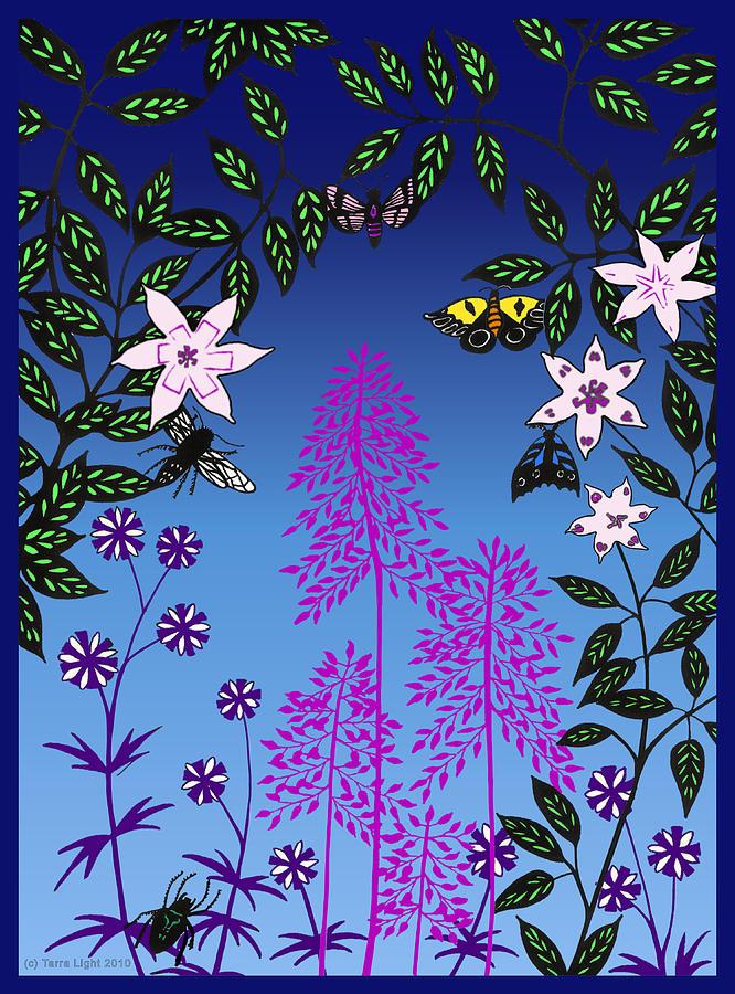 Fairy Digital Art - Fairy Garden By Tarra Light by Robert Bissett
