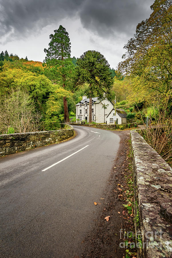 Autumn Photograph - Fairy Glen Hotel by Adrian Evans